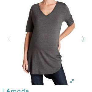 High - Low Maternity Tunic Top